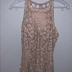 Sherri Hill Nude/Pink Homecoming dress